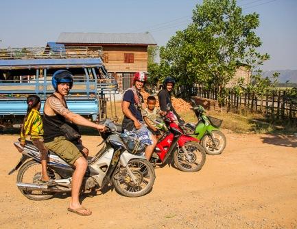 Thakhek Motorbike